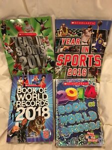 4 Scholastic books world record