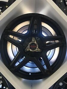 """20"""" centreline wheels and tyres,bt-50,wildtrack,navara,coloradoo,hilux Somerton Hume Area Preview"""