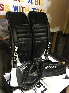 CCM Goalie Pads & Gloves