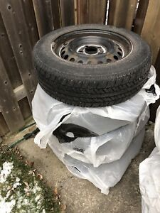 All season tires with rims, for Honda Civic