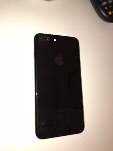 iPhone 7+ 128g Jetblack à vendre