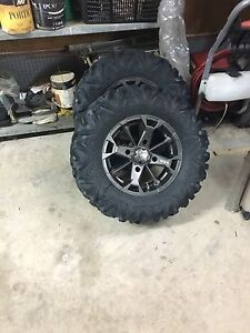"CAN AM 14""  Wheels and Bighorn 2.0"