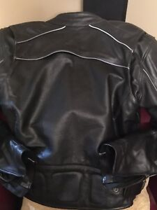 Motorcycle jackets and vest