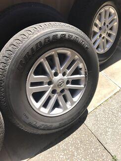 SR5 Hilux - 17 inch Rims & Tyres