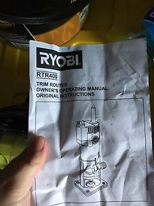 Ryobi hinge router RTR400 Narre Warren South Casey Area Preview