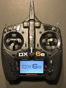 Spektrum DX6e RC plane drone heli Radio Transmitter FOR SALE