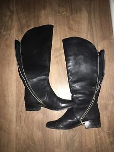 WOMEN'S SIZE 6 GENUINE LEATHER BOOTS