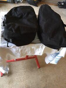 Kawasaki saddlebag liners