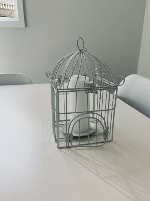 Decorative Bird Cage Candle Holder Decorative Accessories