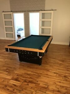 Beautiful Pool Table + All Accessories Included - NEED IT GONE!!