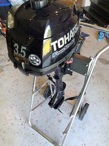 Tohatsu four stroke 3.5HP outboard boat motor