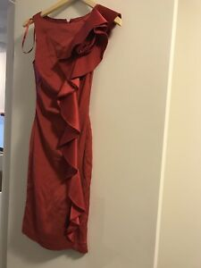 Le Chateau Red formal dress