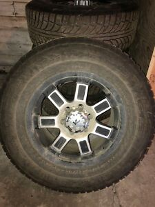 Studded F150 Tires and Rims