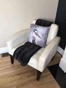 Modern vinyl chairs