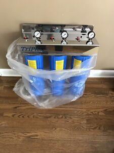 New Triplex water filter