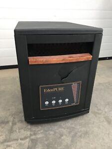 Eden Pure Quartz Infrared Portable Heater