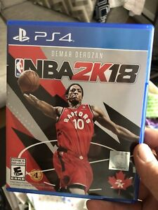 NBA 2k18 PS4 for 20$ or trade