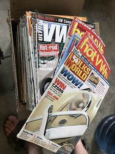 VW magazine collection