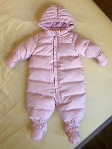 GAP Cold Control Max Down Snowsuit for baby girl 0-6 months