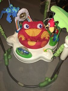 Fisher price jumperoo rainforest comme neuf