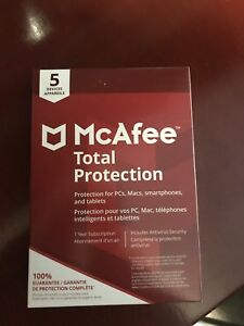 BRAND NEW Mcafee total protection