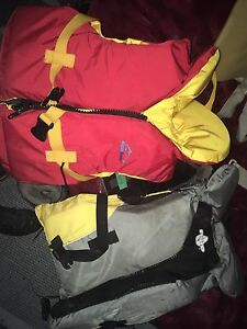 Life jackets  10 each or both for 15