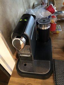 Nespresso citiz and milk silver
