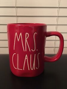 RAE DUNN - Mrs. Claus (all red) - USA EXCLUSIVE