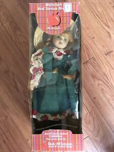 Anne of Green Gables porcelain doll by Rob McIntosh