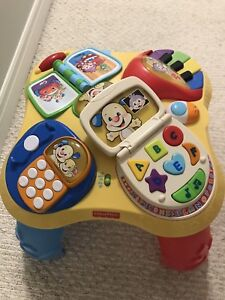 Baby toys (learning table, music instruments gate)