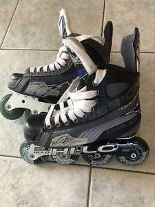 Youth Size 3e (skate sizing) in-line skates