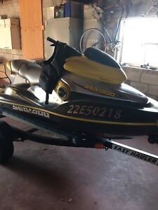 Seadoo XP with trailer