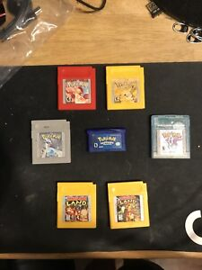 Assorted Game Boy games