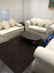 Couch and dining room set