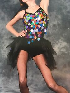 Jazz dance costume