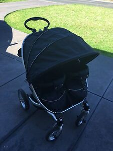 Valco Baby Twin Pram ION for 2 negotiable Hope Valley Tea Tree Gully Area Preview
