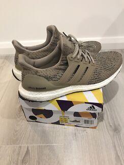 "Adidas ultra boost 3.0 ""khaki"" US11"