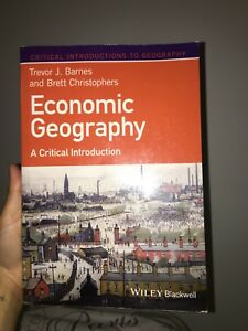 Economic Geography A Critical Introduction