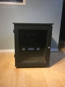 Sound Isolation cabinet with fans