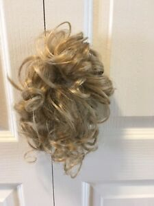 Toddler high ponytail curly hairpiece