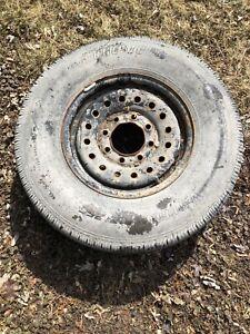 Bridgestone v-steel on 6 lug gm rim