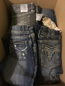 *NEW*NOUVEAU*Lot de jeans et pantalons/ batch of jeans and pants
