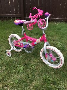 "14"" Barbie bike $30"