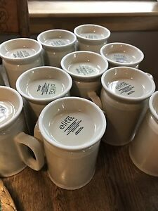 Set of 12 mugs