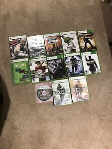 XBox360 assorted games