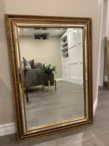 Antique mirror beautiful gold detailing
