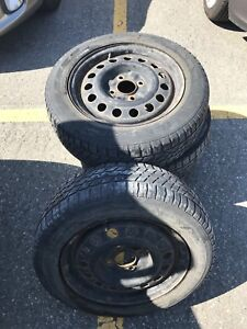 Four Summer tires with Rims