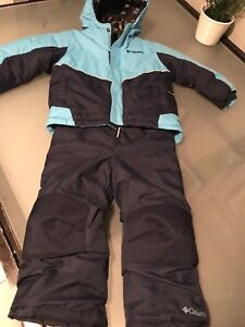 Columbia jacket and ski pants in like new condition!