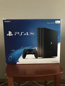 Playstation 4 Pro  $360 or best offer