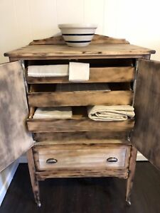 Rustic Armoire Style Cabinet Antique Canadian Made